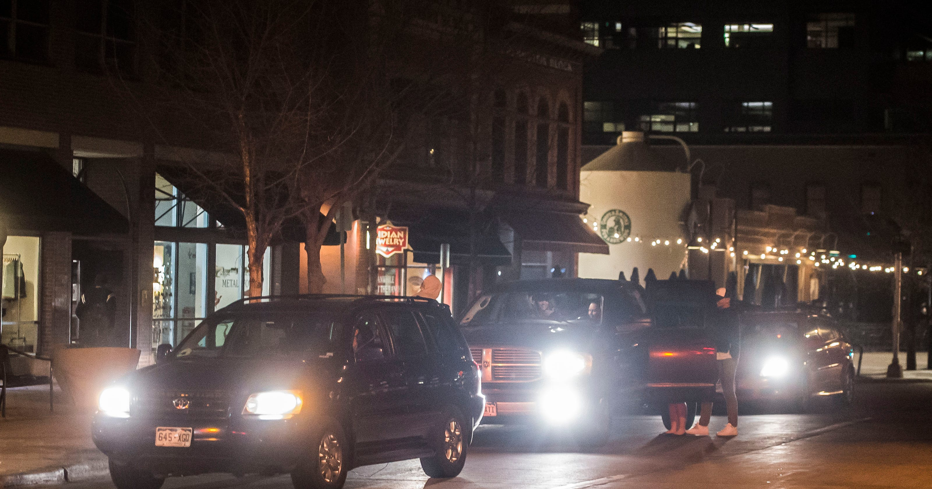 Uber, Lyft drivers clog traffic in Old Town Fort Collins