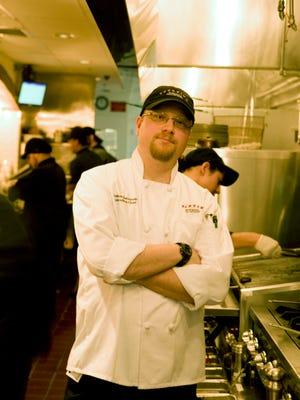 Josh Bernstein, former exec. chef of Spuntino Wine Bar & Italian Tapas in Clifton.