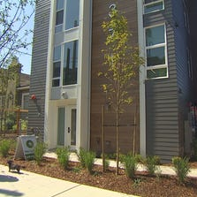 Eastlake's new micro-housing complex, The Footprint, is located at Louisa and Franklin in Seattle.