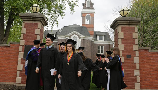Simpson College Graduation