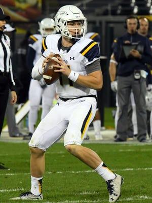 Toledo Rockets quarterback Logan Woodside.