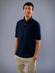 Ricardo Alcaraz, now a college freshman,  volunteered
