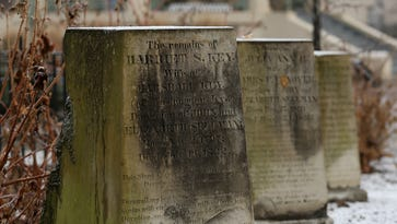 There's a love story hidden on a tombstone in Washington Park. It endures 186 years later.