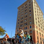 Take part in the Winter Wonder Ride around downtown Pensacola