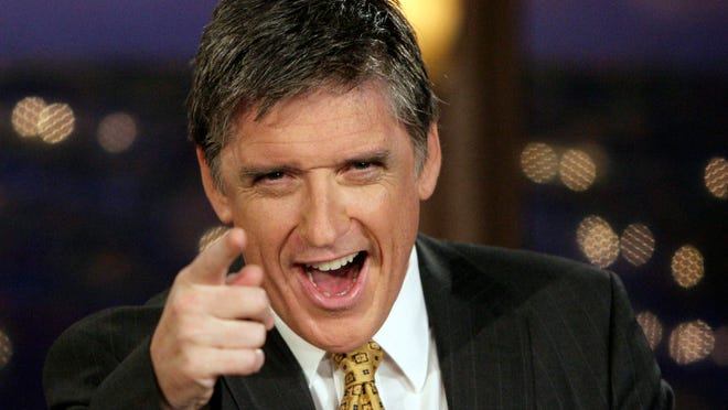 Talk show host Craig Ferguson on the set of CBS' Late Late Show Monday, Feb. 18, 2008, Los Angeles.Most late-night hosts don't have much to say about who they really are. But Ferguson is self-disclosive, deftly unguarded, on the air. He mines humor from tough times including two divorces, career setbacks, and his past drug and alcohol abuse.  (AP Photo/Ric Francis) ORG XMIT: CARF110
