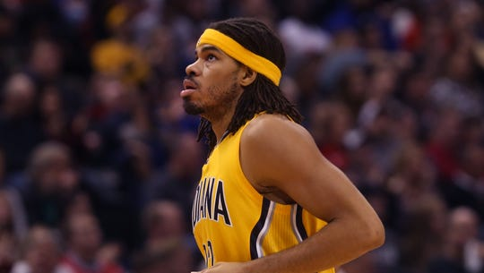 Chris Copeland back in his Pacer days