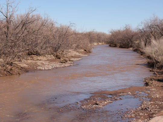 It's a rare sight to see water in the Mimbres River as it snakes its way through Deming and Luna County.