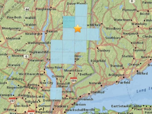 Pawling earthquake reports 2017