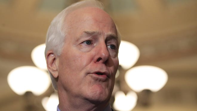 U.S. Sen. John Cornyn, R-Texas, said President Donald Trump should have released his tax returns when he ran for president in 2016.