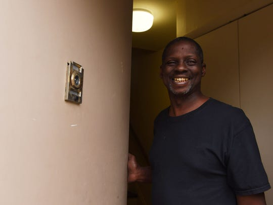 Joseph Pinkney, a resident of the Harriet Tubman Terrace Apartments in the City of Poughkeepsie.