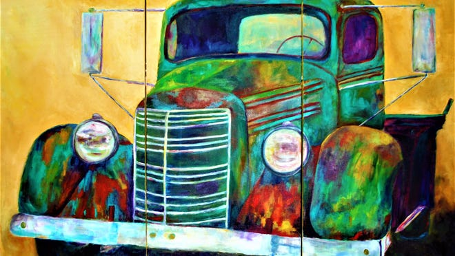 """""""My Brother's Mack,"""" by Diana LaMorris."""