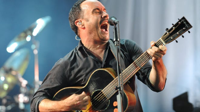 Dave Matthews performs at Riverbend Music Center in July 2013.