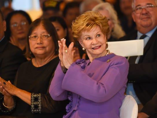 In this Jan. 23 file photo, Guam Del. Madeleine Z.
