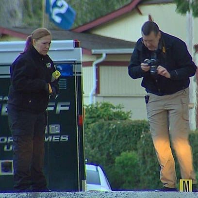 Police investigate a fatal shooting in Bremerton