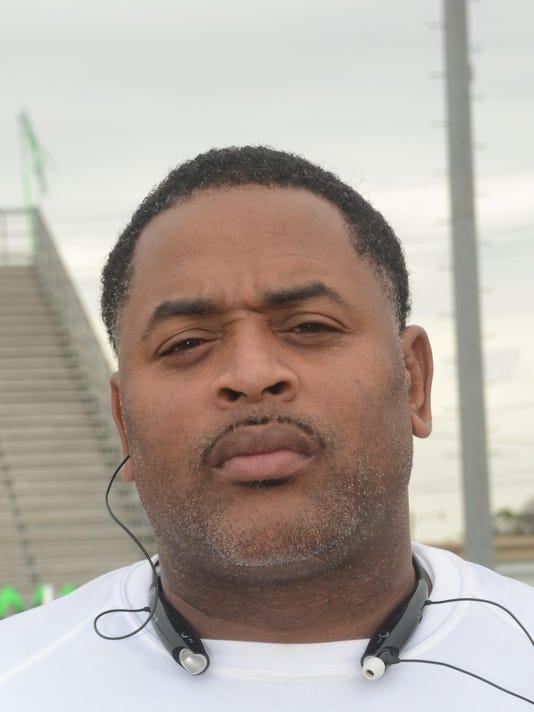 ANI All Cenla Football Coach and MVP player Peabody football coach Toriano Williams selected Coach of the Year Thursday, Dec. 11, 2014.-Melinda Martinez/mmartinez@thetowntalk.com