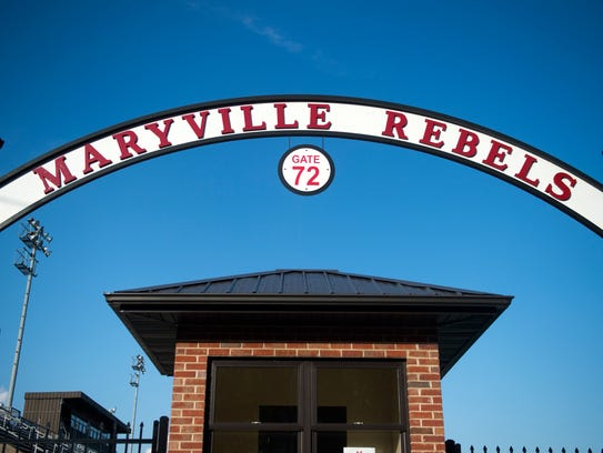 Gate No. 72 at the Maryville football field honors