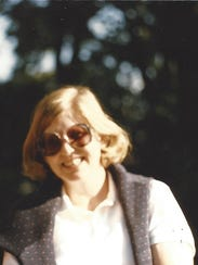 Camille in 1987, a few years after arriving in Missouri.