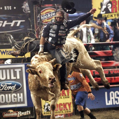 Yee-haw! See bull riding in Elmira this weekend