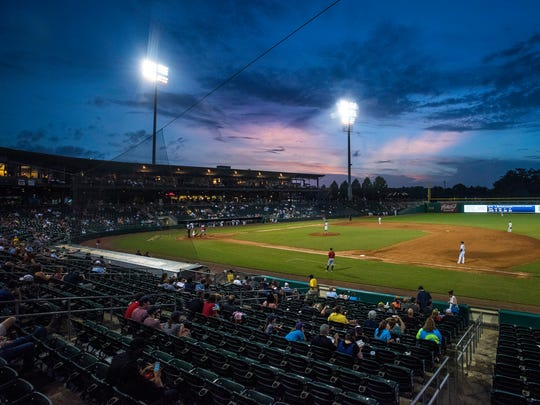 The Montgomery Biscuits play at Riverwalk Stadium in