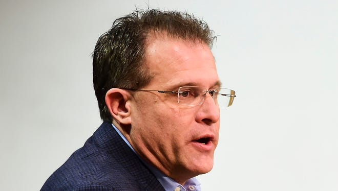 Gus Malzahn was grateful for the leadership of Auburn athletic director Jay Jacobs.