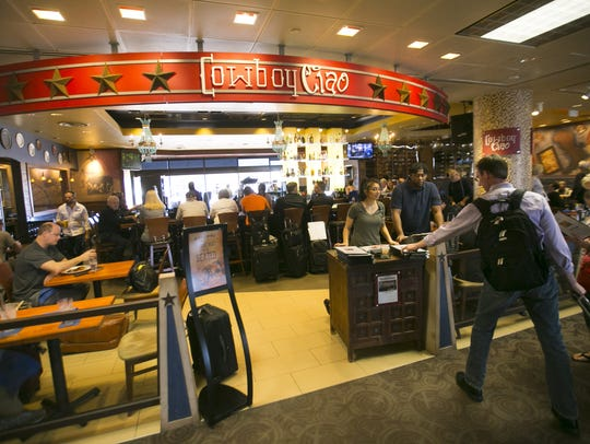 Cowboy Ciao at Terminal 4 in Phoenix Sky Harbor International