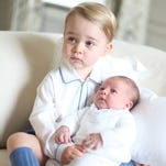 Photos: The christening of Prince George