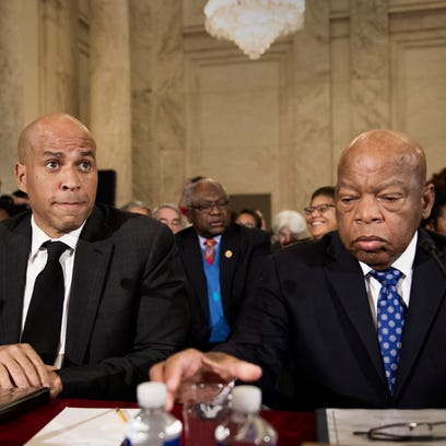 U.S. Rep. John Lewis is a doer, with the history and scars to show it
