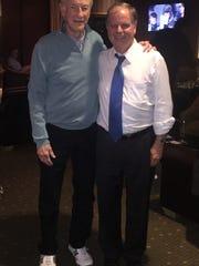 Gerald Stern (left) and Doug Jones