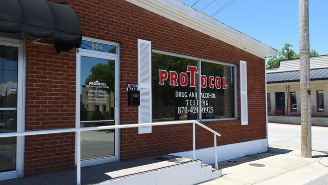 Protocol Drug Testing is located in Mountain Home at 604 S. Church Street and at 113 Rush Avenue in Harrison. It also offers mobile, on-site drug testing for its clients.