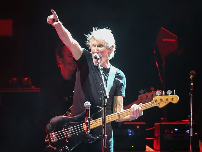 Roger Waters performs at Desert Trip in Indio, October