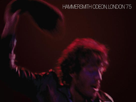 """The cover to the 2006 release of """"Hammersmith Odeon"""