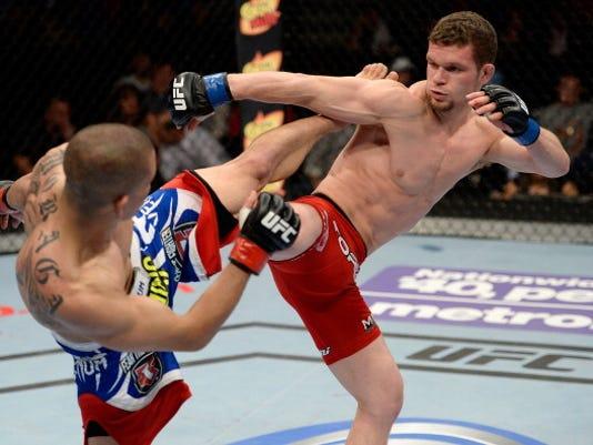 UFC Fight Night - Moraga v Ortiz