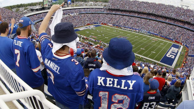 Season-ticket sales at the Bills stadium in Orchard Park have topped the charts the past two seasons.