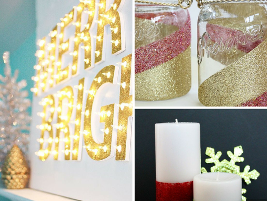 7 diy decorations for wintertime cheer - Diy Decorations