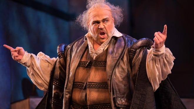 """Falstaff is sung by Steven Condy in a winning and masterful performance that makes it clear that """"he owns the role"""" in the 2016 OperaDelaware Festival production of """"Falstaff."""""""