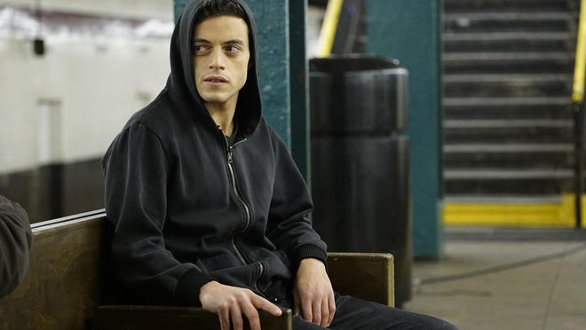 """Rami Malek plays a hacker in """"Mr. Robot."""" Unlike other shows about hackers, """"Mr. Robot"""" has been praised by people in the hacker community for realistically portraying what they do."""