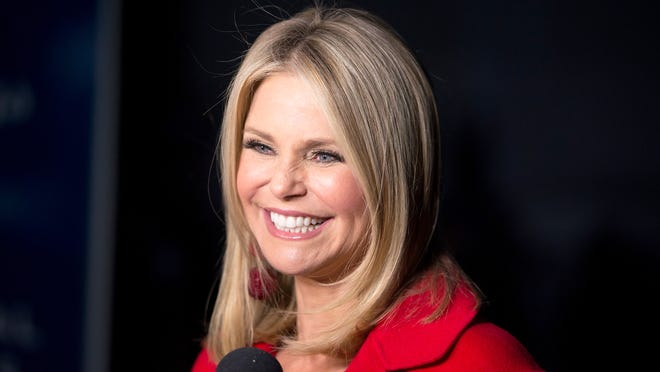 Christie Brinkley attends the 93rd Annual New York Stock Exchange Christmas Tree Lighting at New York Stock Exchange on December 1, 2016 in New York City.