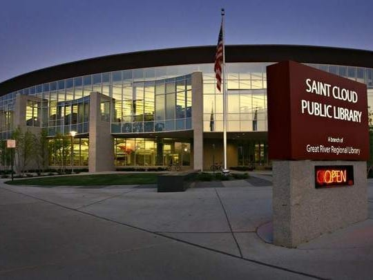 The St. Cloud Public Library, shown in a St. Cloud Times file photo, is part of the Great River Regional Library system.