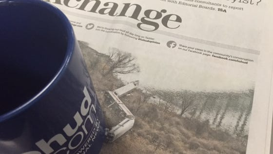 Our weekly Exchange section appears in the Sunday Journal News.