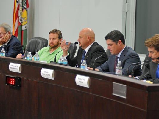 Legislative Delegation meeting