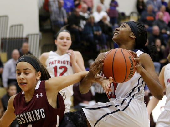 Binghamton junior Kaziah Ross is one of the best penetrators in the Southern Tier Athletic Conference.