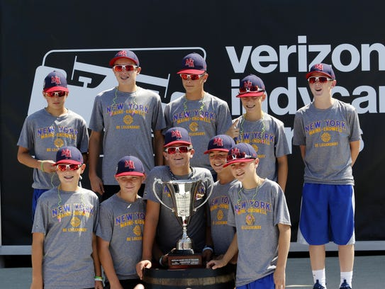 Members of the Maine-Endwell Little League World Series