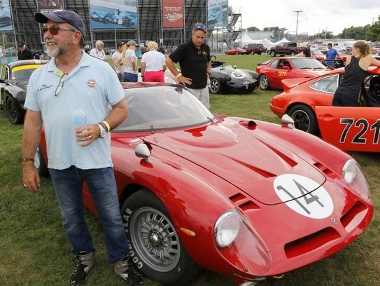This 1968 Bizzarrini 5300 GT Strada, with owner/driver