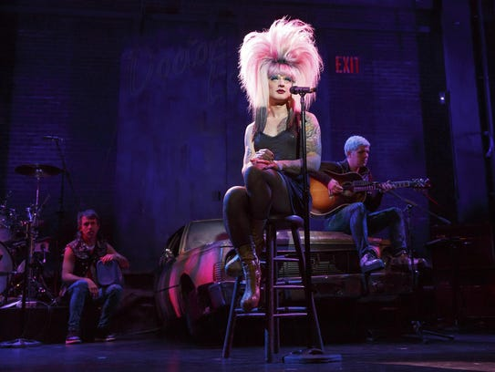 "Tony nominee Euan Morton stars in ""Hedwig and the Angry"