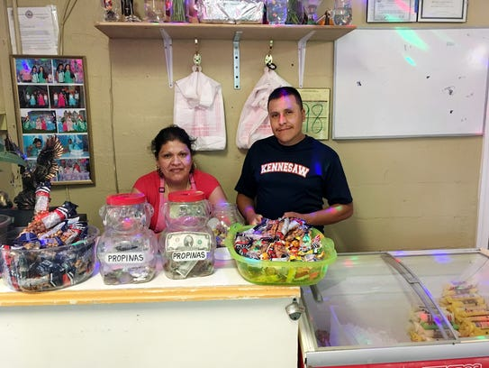 Jose and Maria Cepeda are the owners of Taqueria de