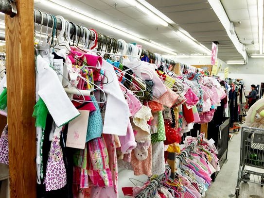 The popup children's consignment sale season takes
