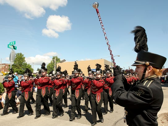 Armed Forces Day Parade in Bremerton on Saturday, May