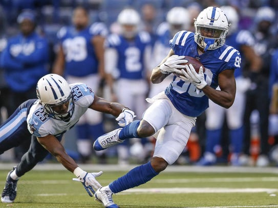 A hamstring injury cost Chester Rogers an opportunity