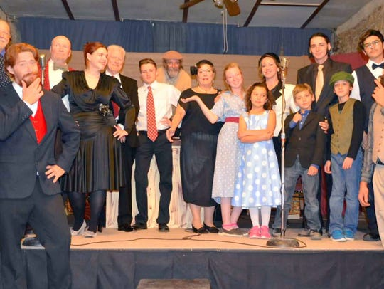 """The full cast of """"It's a Wonderful Life:A Live Radio"""