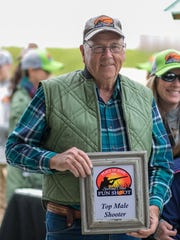 Merrill Helms, best male shooter at the 2018 Sporting